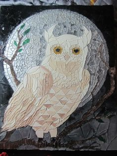 Glass Owl Mosaic
