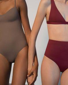 Swimwear & Beachwear for Women : her line Swimwear Fashion, Bikini Fashion, Mode Du Bikini, Underwear Brands, Lingerie, Beachwear For Women, Swimsuits, Swimwear, Editorial Photography