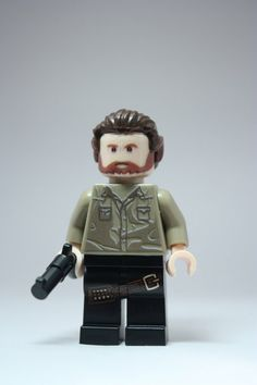 Walking Dead's Rick Custom minifigure ideal for any Walking Dead or Lego fan. on Etsy, $47.48 AUD