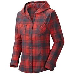 Mountain Hardwear Women's Stretchstone Flannel Hooded Shirt