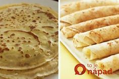 They're not only easier to make than you think, they are flat out easy to make! It seriously only takes a few tries. Croatian Recipes, Crepe Recipes, Crepes, Breakfast Recipes, Sweet Tooth, Food And Drink, Sweets, Vegan, Cooking