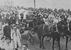 KultWarszawa: Pogrzeb Romana Dmowskiego w Warszawie