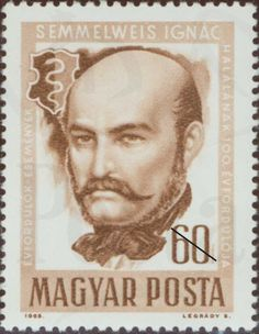 Hungary March Scott# 1318 International Women's Day set Semmelweis cured puerperal fever w/ disinfected hands; saved mothers and babies lives.