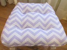 One Tufted Cushion/Chair Pad in Lavender/Lilac/ by HomeStyled, $32.95