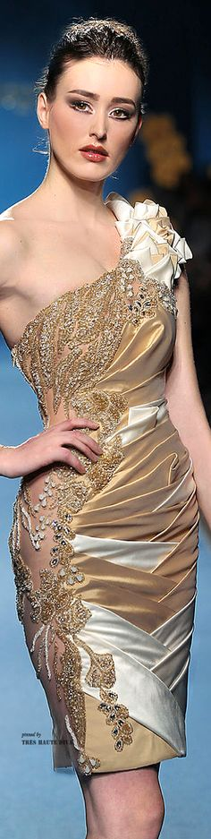 Mireille Dagher Couture Spring 2014 ♔THD♔