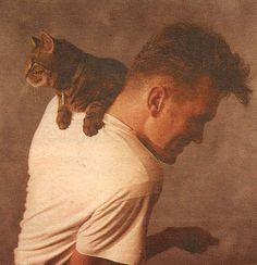 Morrissey - kitten stuff is good for cuddles. Good pet things.