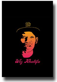 Wiz Khalifa Poster $9.84 #WizKhalifa #wiz