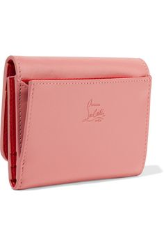 Antique-rose leather (Calf) Snap-fastening front flap Designer color: Ronsard  Comes in dust bag Made in Italy