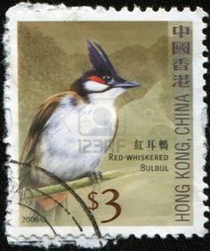 Stamp - hong-kong-china