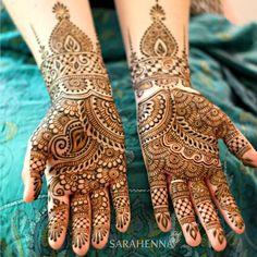 """735 Likes, 14 Comments - SARAHENNA (@sarahennaseattle) on Instagram: """"Sarah's bridal henna  #sarahenna #henna #hennapro #mehndi #Kirkland #kirklandart #seattlehenna…"""""""