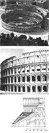 Colosseum, 70-82 (jaa), antiikin Rooma