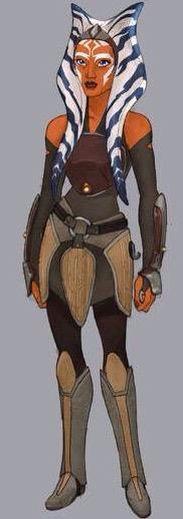Ahsoka Tano as seen in Star Wars Rebels