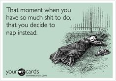 The amount of times I have this feeling at work is disturbing. Luckily I have yet to fall asleep.