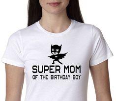 pj masks, Super Mom of the Birthday Boy, masks shirt, pj masks birthday shirt, PJ Mask, funny shirt.Mom Shirt, Birthday Shirt. Paw Patrol