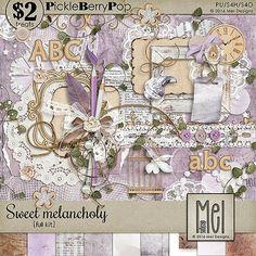 Sweet melancholy - Full kit By Mel Designs