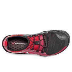 Vivobarefoot PRIMUS TRAIL M SG BLACK/RED