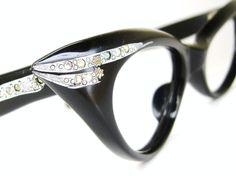1e1ca85967e64 Vintage 50s Eyewear Cat eye Eyeglasses Frame NOS