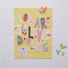 You are so loved darling by HelloTodayCreate at @studio_calico