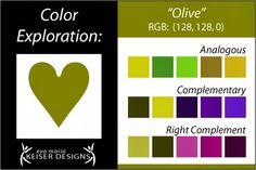 Eva Maria Keiser Designs: Explore Color: Olive