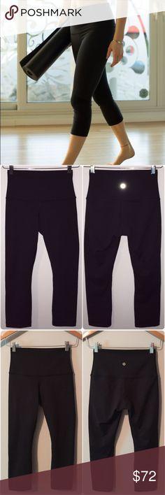 Selling this Lululemon wunder under crop roll down on Poshmark! My username is: lnation818. #shopmycloset #poshmark #fashion #shopping #style #forsale #lululemon athletica #Pants
