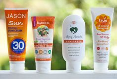 My Favorite Organic, Natural Sunscreens | DeliciouslyOrganic.net