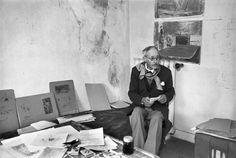 Pierre Bonnard par Henri Cartier-Bresson. Le Cannet. France. 1944.