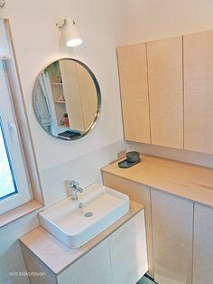 Love my bathroom, love the wood!