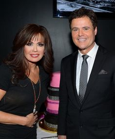 Donny & Marie Osmond celebrate their 1000th performance at the Flamingo Las Vegas. WE DID IT! July 2014!! Awesome night! Unforgettable!