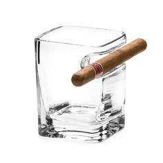 Un produs recomandat din colectia de Cadouri pentru Barbati - Pahar Whisky cu Spatiu pentru Trabuc pentru aceia dintre voi care apreciati o bautura fina si un trabuc de calitate  #incrediblepunctro #cadou #cadouri #cadouripentrubarbati #pahar #trabuc #whisky Whisky, Barware, Gadgets, Container, Quotes, Products, Corning Glass, Quotations, Whiskey