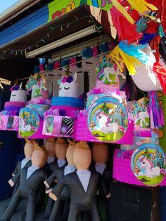 Unicorn Pinata, Paw Patrol, Pastel, Crafts, Things To Sell, Unicorns, Mermaid, Christening, Horses