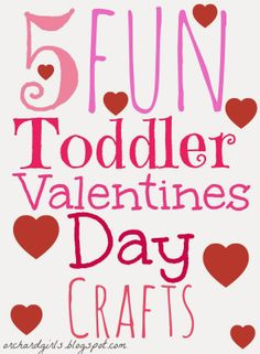 Top 5 Toddler Valentine's Day Crafts