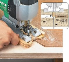 Template Cutting with a Jig Saw