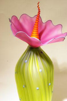 Art Glass Platter by Kliszewski from Kela's...a glass gallery on Kauai