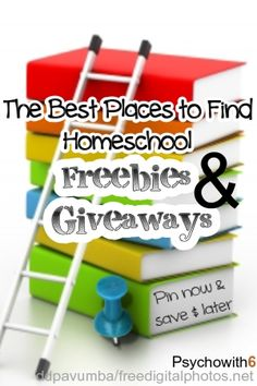 A comprehensive list of the best places to find homeschool freebies and giveaways.