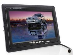 7 inch TFT LCD Digital Car Rear View Monitor with Waterproof Car Rear View Camera combo by Babytree. $59.99. Monitor Specifications: Screen Size:7 inch Dimensions: 193*132*22(L*W*D) mm Display Component: Color TFT-LCD Number of Dots: 480W * RGB * 234H Contrast Ratio: 100:1 Response Time: B?W 30ms W?B 10ms Video Frequency: PAL/NTSC Power Consumption: Around 8W Video: Two way video input Inset super powerful reception English menu and blue background display All-f...