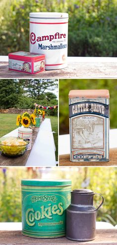 Rustic and vintage touches at this Family Hoedown Birthday Party