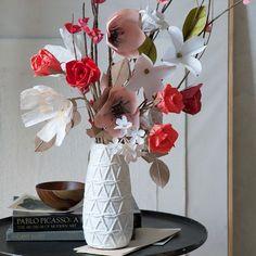 Paper Flowers - Red Rose   west elm