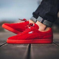 1013d08a02fb33 Puma rojo Red Puma Sneakers