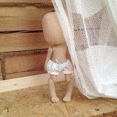 Вот у меня рождается такое чудо;) новая Олли со сгибающимися ножками #кукла куколка #куклаолли #doll #artdoll #dolls