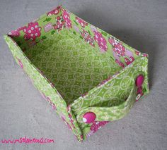 You have to see Stash Baskets on Craftsy! - Looking for sewing project inspiration? Check out Stash Baskets by member Ms. Elaineous. - via @Craftsy