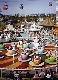Vintage Disneyland Teacups                                                                                                                                                                                 More