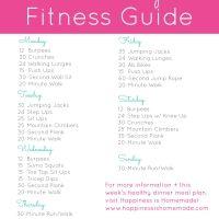 Beginner Fitness Jumpstart: Week 2