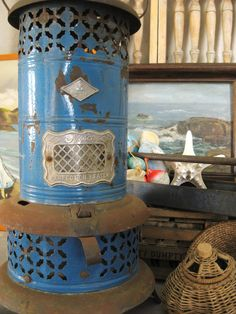 vintage oil heater. I'm restoring one of these right now! :)