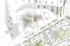 """Image 9 of 15 from gallery of Schauman & Nordgren Architects Wins Competition for """"City of Gardens"""" Masterplan in Finland. Photograph by Schauman & Nordgren Architects Urbane Analyse, Paper Factory, Urban Design Diagram, Win Competitions, Finland, Photograph, Floor Plans, Gardens, City"""