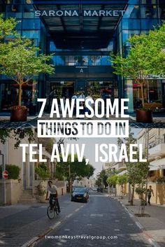 Awesome Things To Do in Tel Aviv, Israel Tel Aviv is a city that's quickly becoming on the radar as a hot travel destination to visit. Here are 7 awesome things to do in Tel Aviv, Israel.Tel Aviv is a city that's quickly becoming on the ra Travel Europe Cheap, New Travel, Travel Goals, Travel Tips, Travel Destinations, Travel Packing, Travel Hacks, Asia Travel, Beach Travel