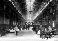 Photo of Barnstaple, The Pannier Market 1903 Old Photographs, Old Photos, Vintage Photos, Genius Loci, Continental Europe, Devon England, North Devon, Antique Maps, Beautiful Places