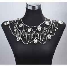 Wedding Bridal Party Crystal Shoulder Body Chain Necklace Earrings Jewelry | Jewelry & Watches, Fashion Jewelry, Body Jewelry | eBay!