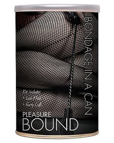 Pleasure Bound Bondage Kit in a Can - Spencer's