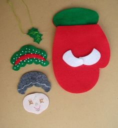 Ideas que mejoran tu vida Christmas Items, Felt Christmas, Christmas And New Year, Christmas Holidays, Christmas Crafts, Christmas Decorations, Christmas Ornaments, Holiday Decor, Margarita