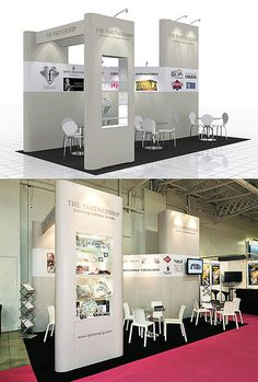 Exhibition Stand Design for The Partnership at Brand Licensing Europe - from Quadrant2Design.com